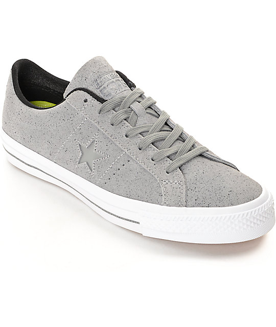 converse one star gris