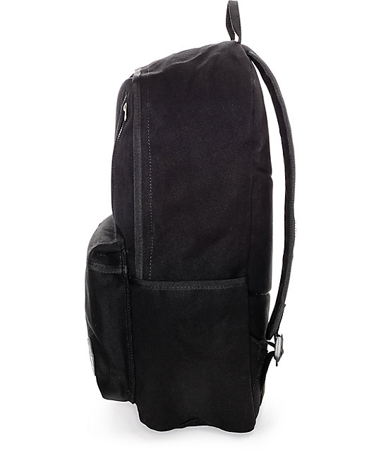 0ae3747a30a1 ... Converse Original Black Canvas Backpack ...