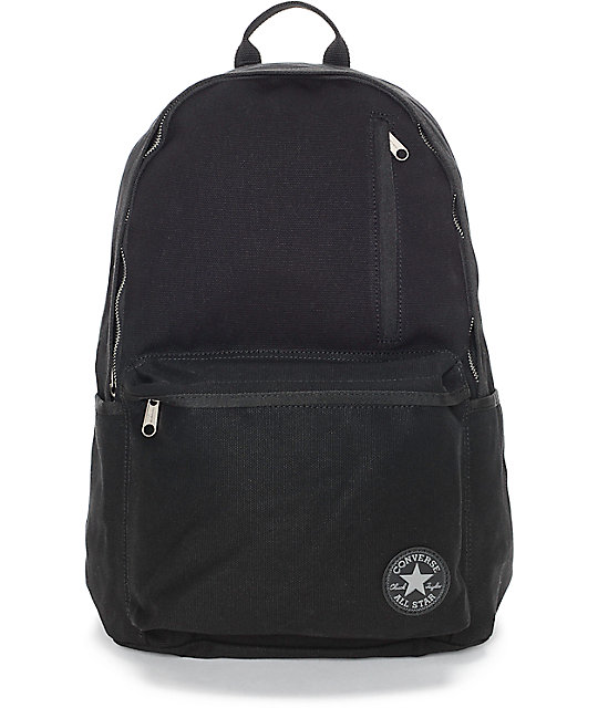 Converse Original Black Canvas Backpack