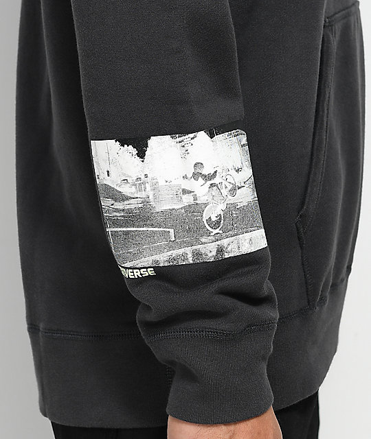 Converse Pani Paul Photo Black Hoodie