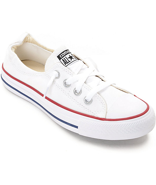 converse optical white mujer