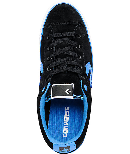 Converse Star Player S II Black & French Blue Shoes