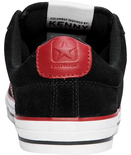 Converse Star Player S II Low Ox Black & Red Shoes