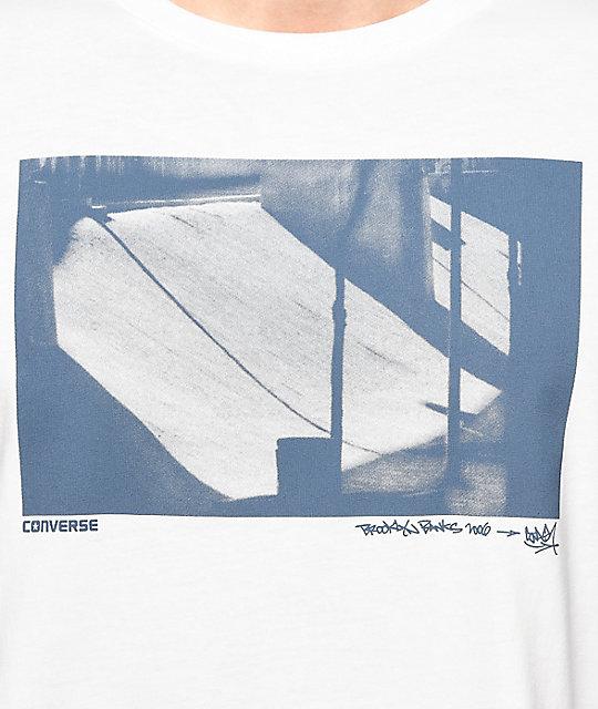 7e051a20f538 ... Converse Stash White Long Sleeve T-Shirt ...