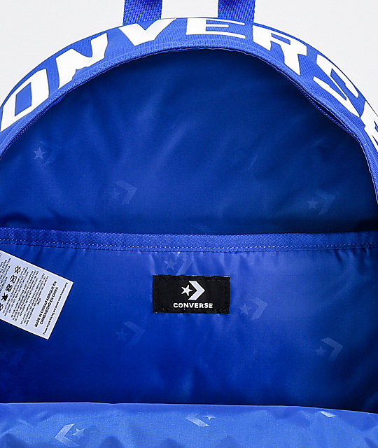 Converse Street 22 Blue Backpack