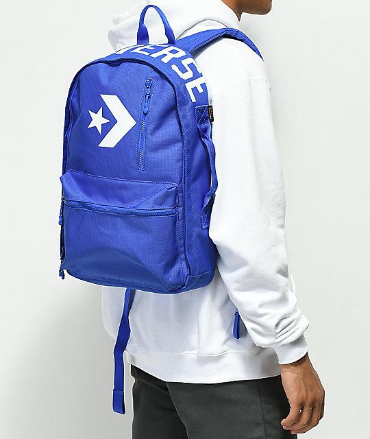 71384578e61 Converse Street 22 Blue Backpack | Zumiez