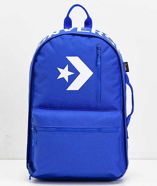 9737e609be4 Converse Street 22 Blue Backpack | Zumiez