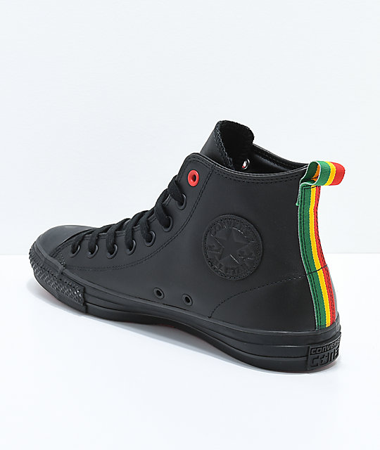 Converse x Eli Reed CTAS Pro Hi Black Skate Shoes