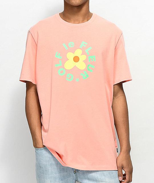 Converse X Golf Wang Le Fleur Peach Pearl T Shirt Zumiez