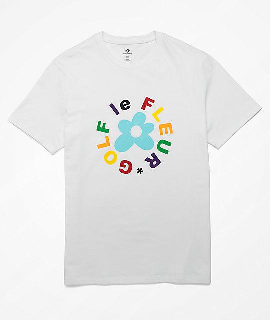 651358ae5762 Converse x Golf Wang Le Fleur White T-Shirt