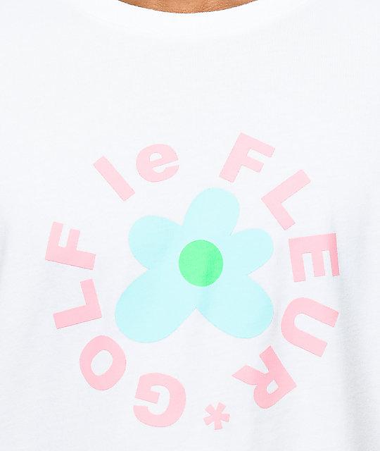 Converse X Golf Wang Le Fleur White T Shirt