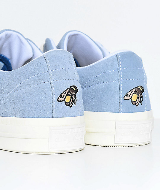 4e6a5243c166 ... Converse x Golf Wang One Star Le Fleur Blue Shoes ...