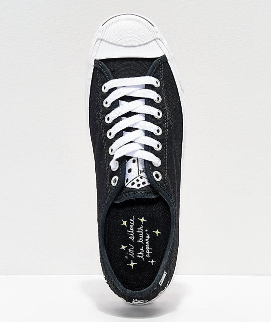 cfb65d9f0a2a9c ... Converse x Illegal Civilization Jack Purcell Pro Black   White Shoes ...