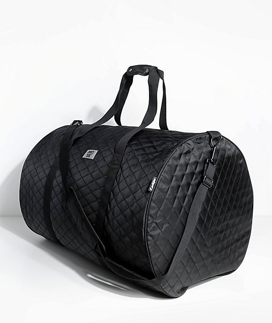 Cookies 1680 Quilted Black Duffel Bag