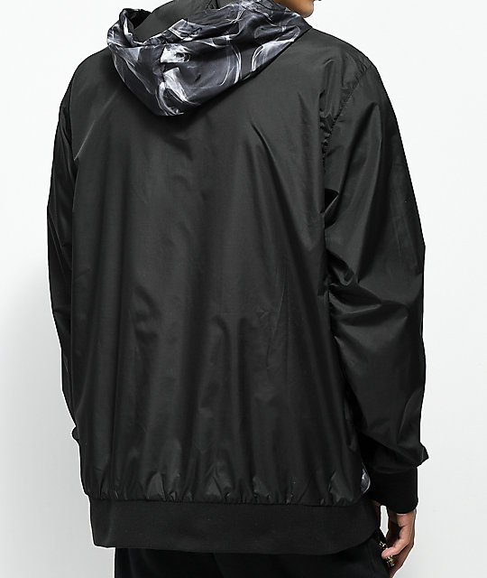 Cookies Black & Smoke Nylon Anorak Jacket