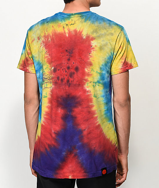 Cookies Chief Leaf Multi Tie Dye T-Shirt