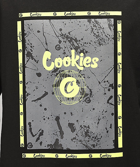 Cookies Citadel Black Long Sleeve T-Shirt