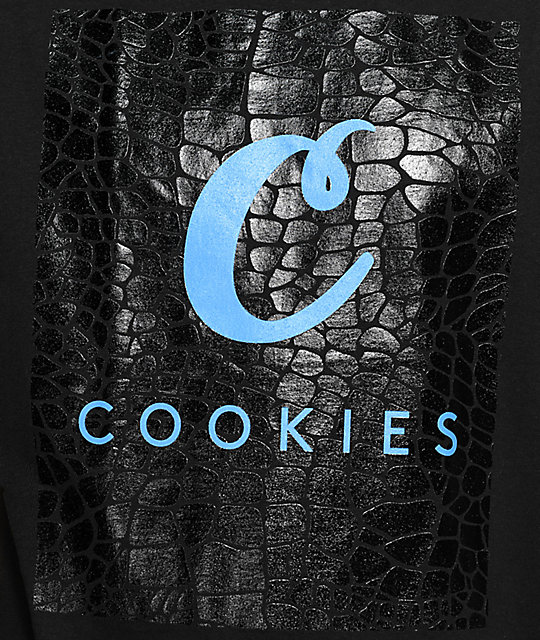 Cookies Croc Black T-Shirt