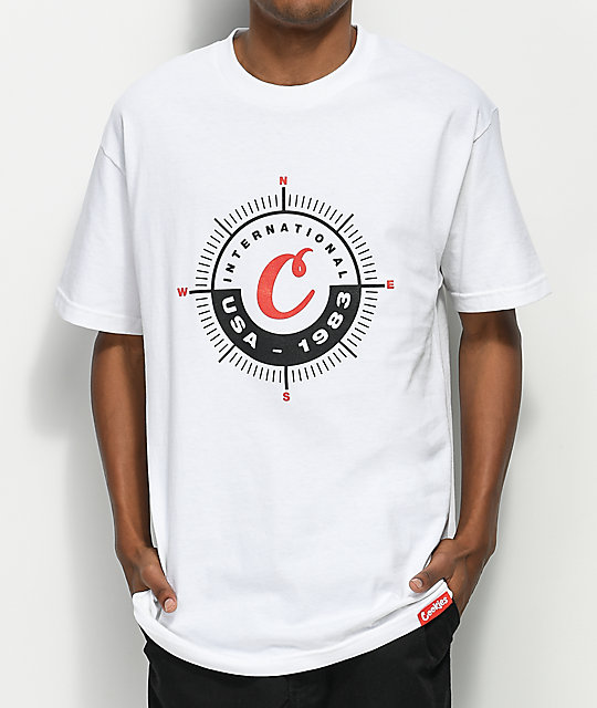 Cookies Expedition Logo White T-Shirt