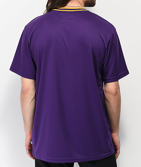 Cookies Hardwood Flava Purple Mesh T-Shirt