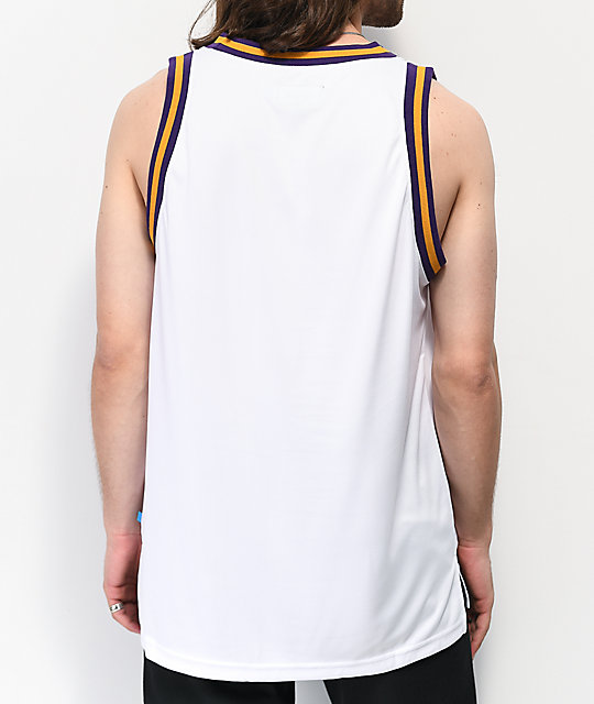 Cookies Hardwood Flava White Mesh Tank Top