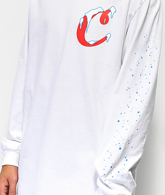 Cookies Icicles White Long Sleeve T-Shirt