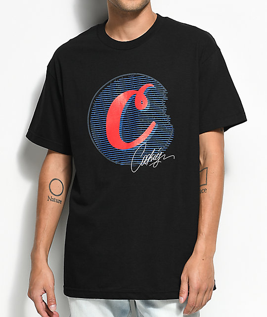Cookies Signature C-Bite Black T-Shirt