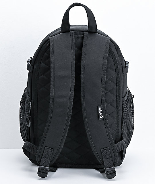 Cookies Smell Proof Bungee Black Backpack