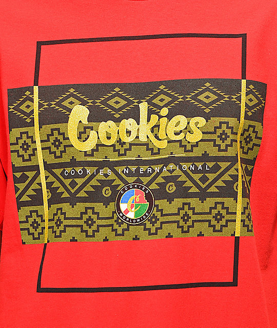 Cookies Tahoe Box camiseta roja