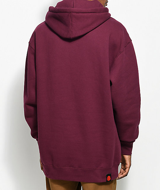 Cookies Thin Mint Burgundy Hoodie