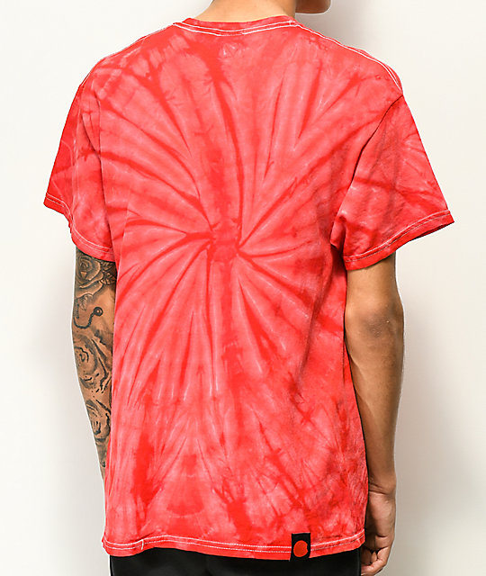 Cookies Thin Mint Red Tie Dye T-Shirt