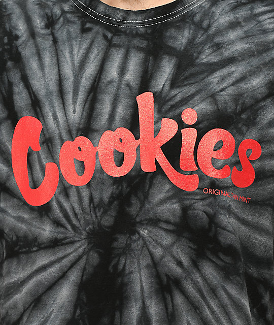 Cookies Thin Mint Spider Tie Dye T-Shirt