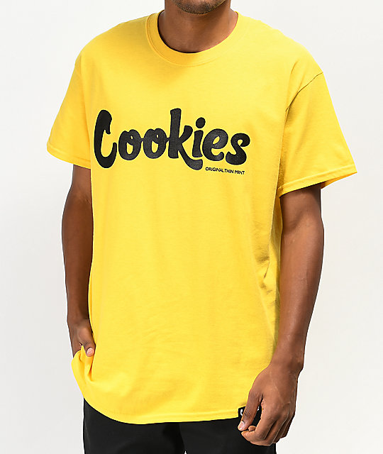 Cookies Thin Mint Yellow T Shirt