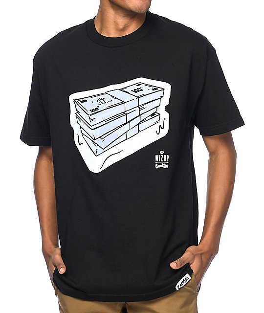 4ed48edca7f Cookies x Wizop So Icy Black T-Shirt