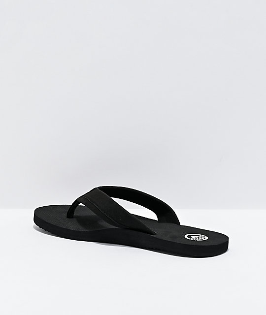 Cords Comfort Waves Black Sandals