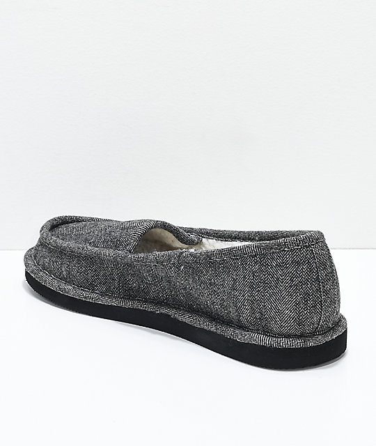 Cords Draper Charcoal Slippers