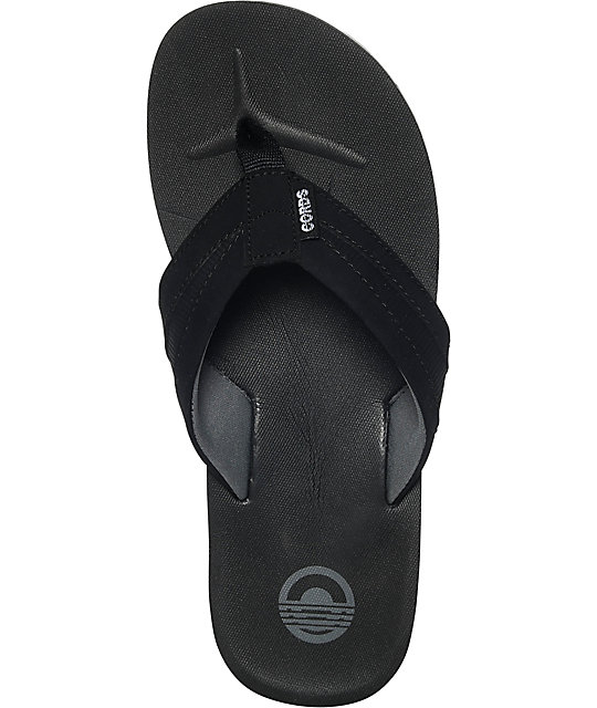 Cords Richter Black Sandals