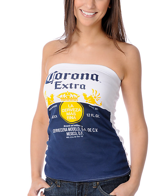 Corona Swim Corona Extra Tube Top