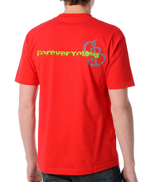 Counter Balance Forever Young Red T-Shirt