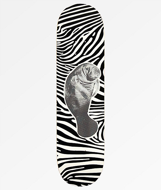 "Create Manatee Glow In The Dark 8.25"" Skateboard Deck"
