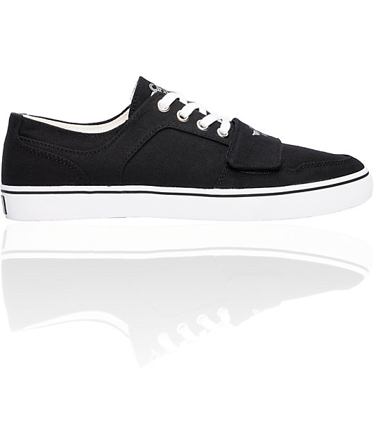 Creative Recreation Cesario Lo XVI Black Canvas Shoes