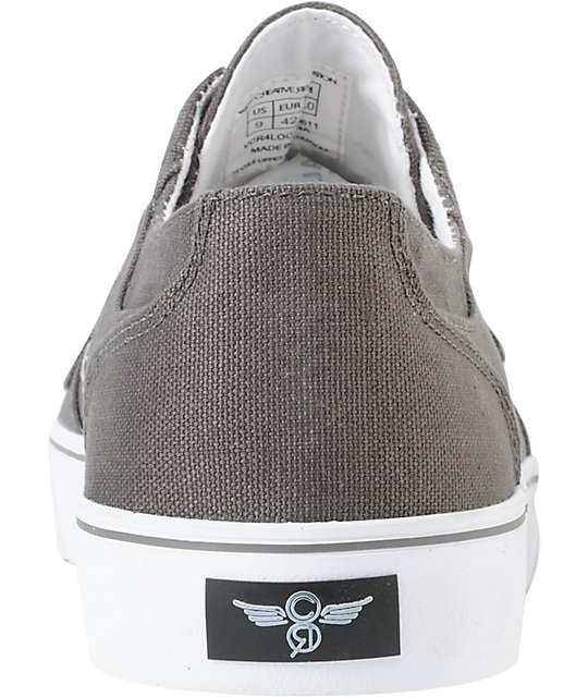 Creative Recreation Cesario Lo XVI Grey Canvas Shoes