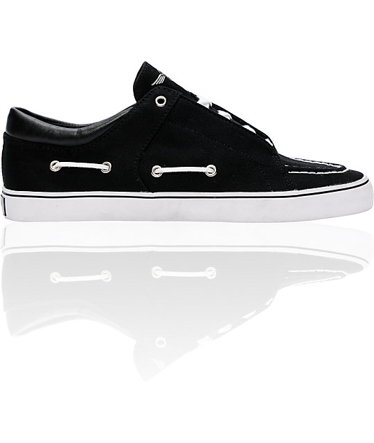 Creative Recreation Luchese Black Canvas Shoes