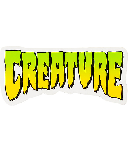 Creature Logo 4 Sticker