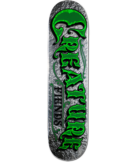 "Creature Mirrorz MD Powerply 7.8""  Skateboard Deck"