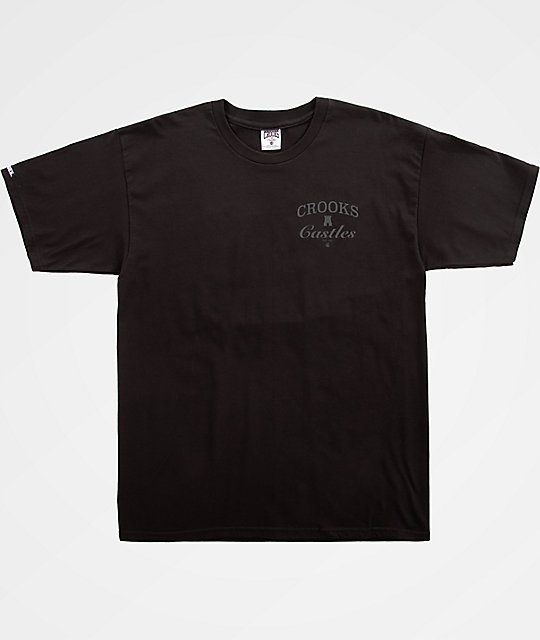 Crooks & Castles C&C Black T-Shirt