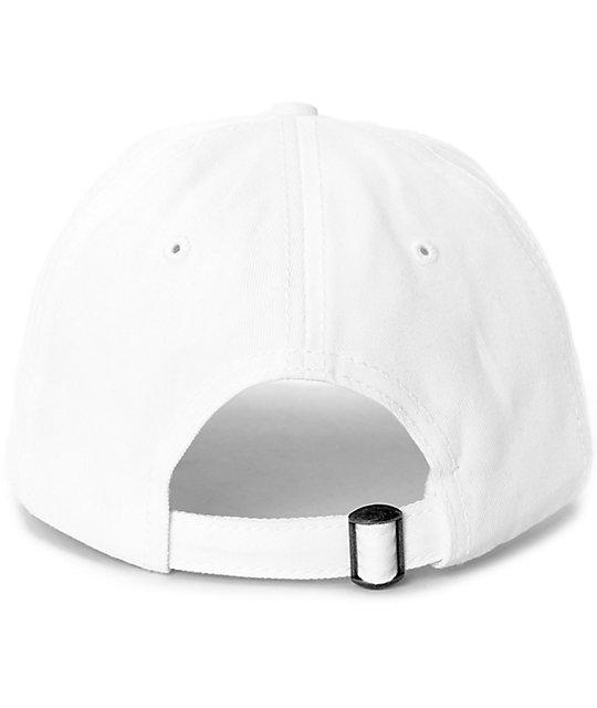 ... Crooks   Castles Crooks White Baseball Hat c56c18a4b3ec