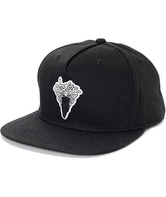 Crooks   Castles Medusa Patch Black Snapback Hat  5f521f6d5fea