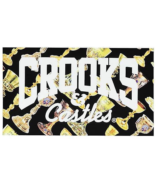 Crooks & Castles Trophy Sticker