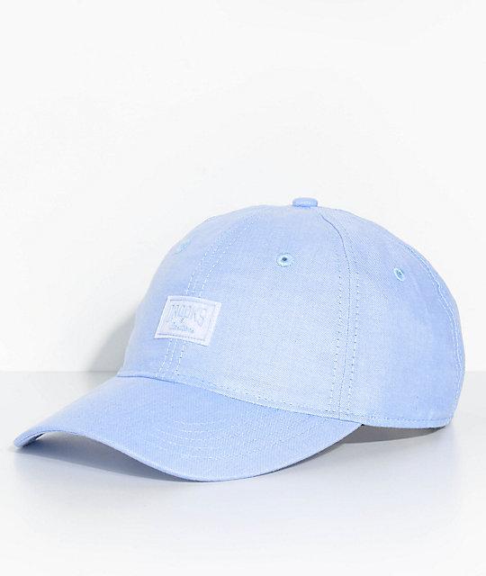Crooks   Castles Logo Sport Light Blue Baseball Hat  900c7ed05421